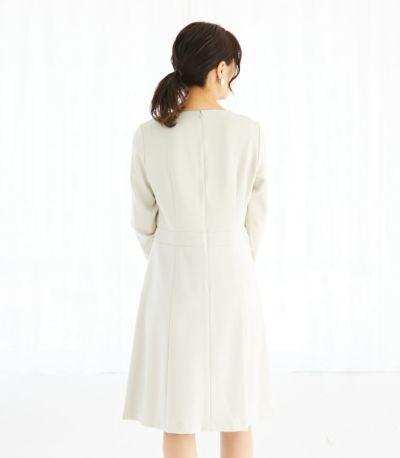 バックスタイル 授乳服 クラシカルレース アイボリー 164cm