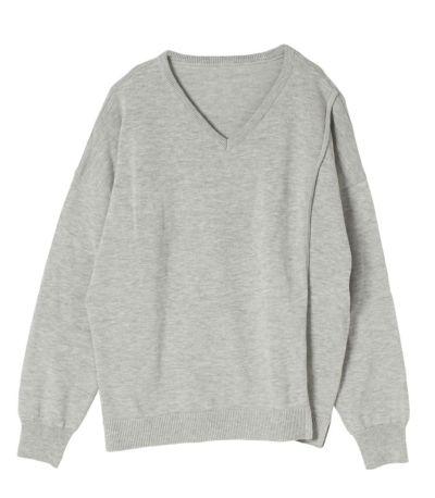 ライトグレー:ベーシックカラーで着まわしやすいグレー