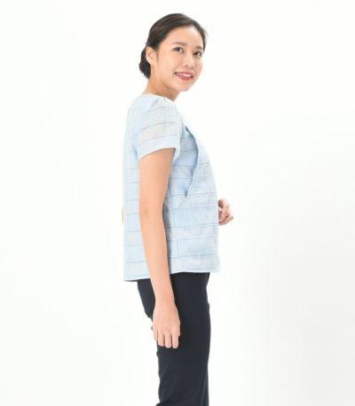 サイドスタイル 授乳服 pocco(ポッコ) アクア Mサイズ 168cm
