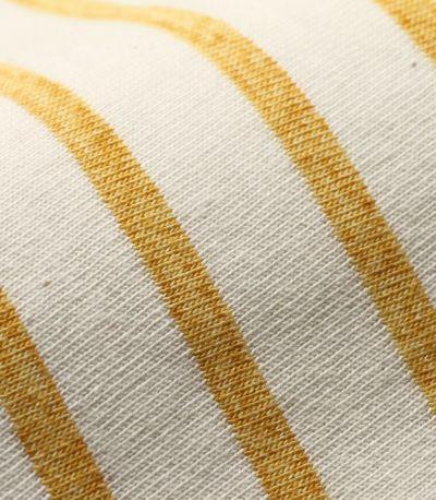 授乳服 マーカーボーダーT 柔らかさのある綿100%は、赤ちゃんにも優しい