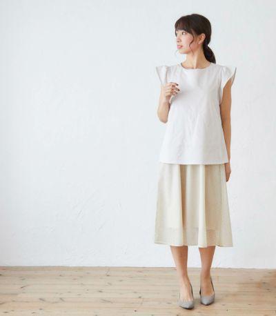 サイドスタイル 授乳服 フネートル ネイビー 162cm