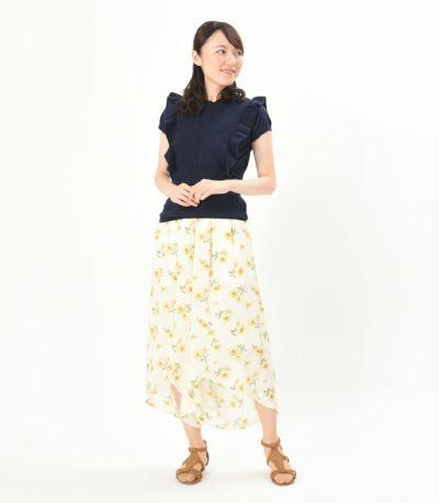 フロントスタイル 授乳服 プティエール ネイビー 164㎝