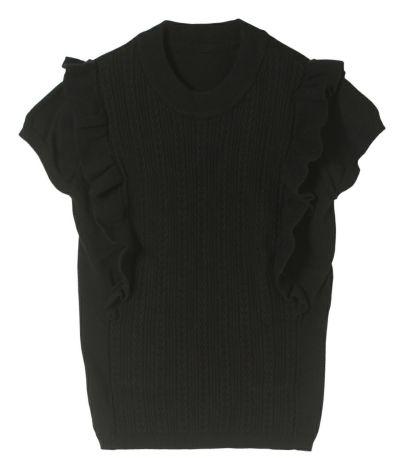 ブラック:モード感のあるブラック