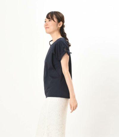 フロントスタイル 授乳服 パピヨンシェリ ライトグレー 162cm