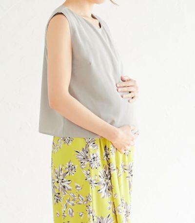 マタニティ(腹囲100cm)対応。妊娠期も産後もきれいなシルエット。