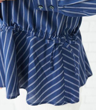 マタニティ服兼用授乳服(腹囲100cm対応)マタニティ期も産後もお腹を優しく包み込み、美しいシルエットをキープ。