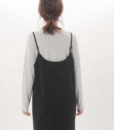 サイドスタイル 授乳服 みつあみウォームロンT グレー 160cm
