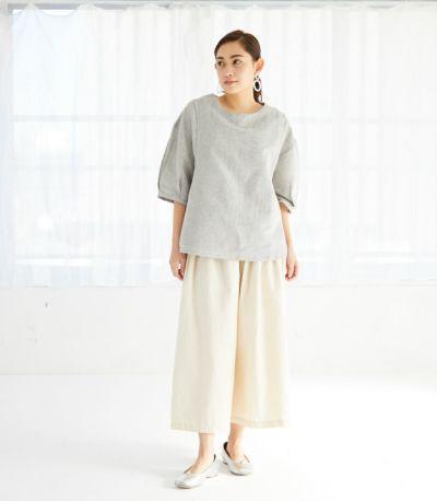 ネパール製 授乳服 patan(パタン) グレー 161cm