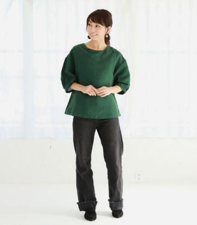 ネパール製 授乳服 patan(パタン) グリーン 164cm