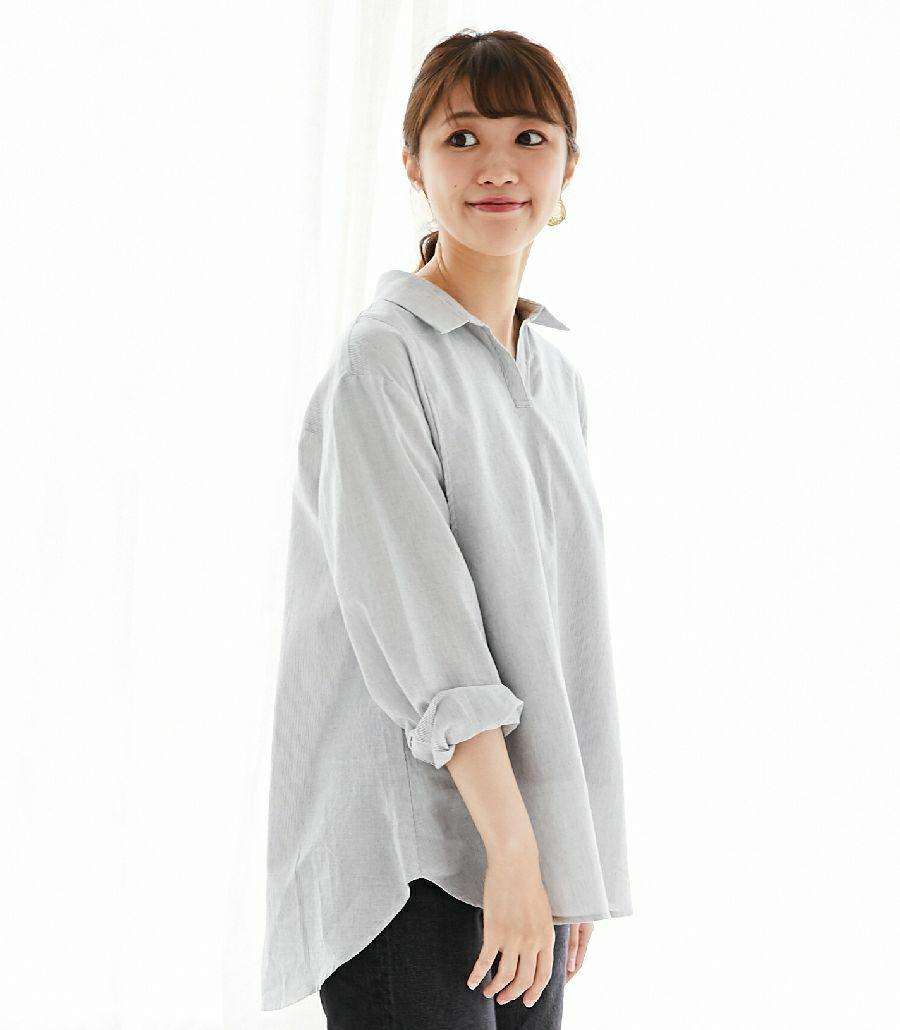 オーガニックコットンシャツ
