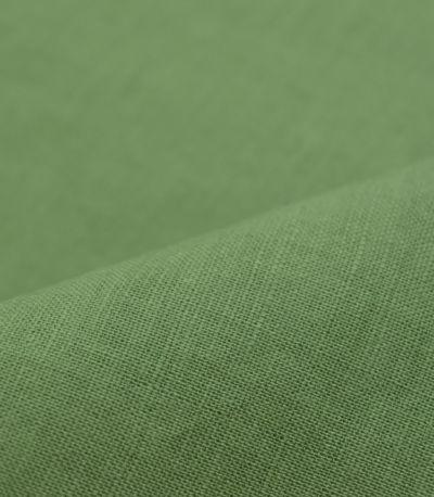 グリーン:ニュアンスのあるグリーン 授乳服 コットンリネンプルオーバー