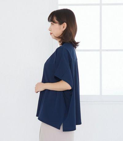 防災Tシャツ 授乳服 マタニティ服 日本製【授乳服・マタニティウェア・授乳ブラ】