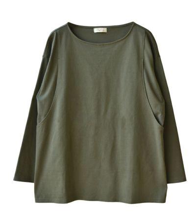 CARINO ベーシックT(長袖) 授乳服 日本製
