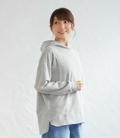 デイリーパーカー 授乳服 日本製