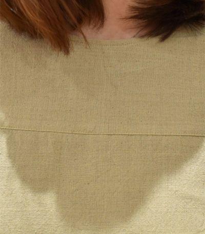 《試着OK》切替リラックスワンピース 授乳服 ネパール製