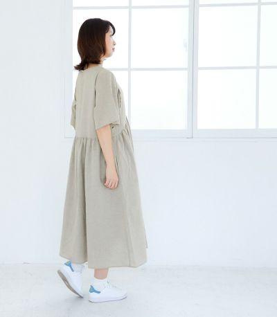 《試着OK》オーガニックガーゼワンピース 授乳服 マタニティ服 日本製