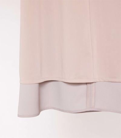 <新色>リボンスリーブワンピース 授乳服 マタニティ服 フォーマル授乳服 日本製