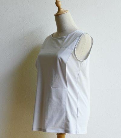 コットンスリットインナー(授乳タンクトップ)【授乳服・マタニティウェア・授乳ブラ】